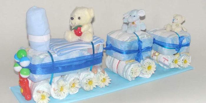 Идея подарка для новорожденного мальчика 38