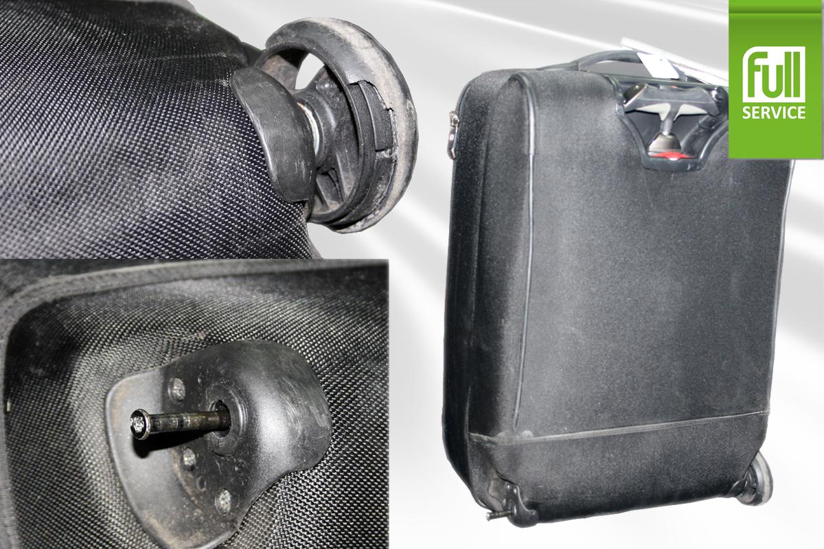 Ремонт корпуса чемодана на колесиках своими руками 42