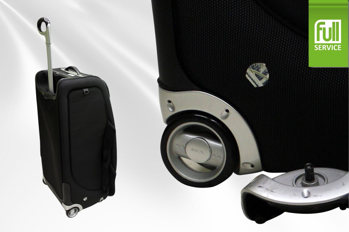 Ремонт корпуса чемодана на колесиках своими руками 48