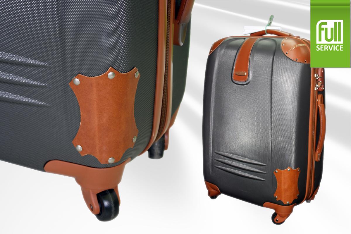 Ремонт корпуса чемодана на колесиках своими руками 23
